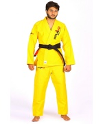 A men wearing Yellow Bjj Gi